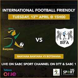 International Friendly: Banyana vs Botswana Live