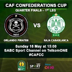 CAF Orlando Pirates vs Raja Casablanca