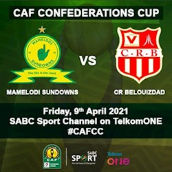 CAF Champions League - Mamelodi Sundowns vs CR Belouizdad